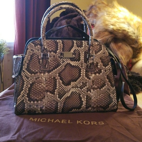 67e2f31af5c5 Michael Kors Collection Python GIA Bag NWT. M_5a554b8c1dffdaaa7906bae4